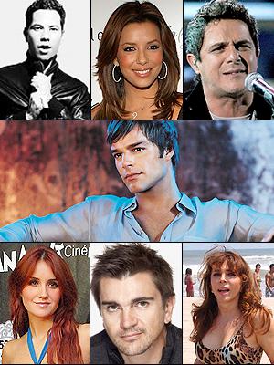 Famosos apoyan a Ricky Martin