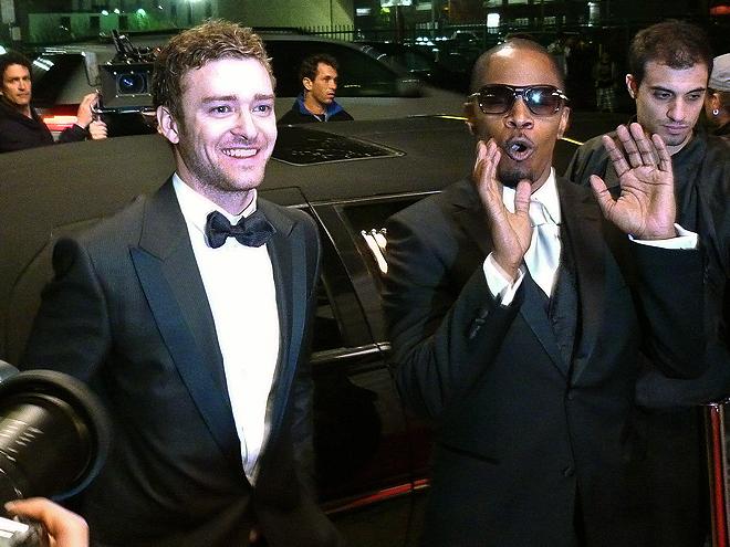 Justin Timberlake, Jamie Foxx