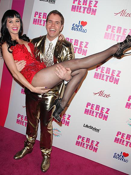 Katy Perry, Pérez Hilton