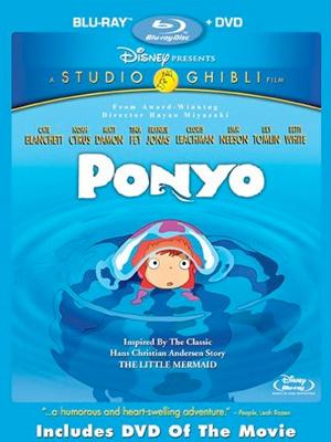 Ponyo en Blu-Ray/DVD
