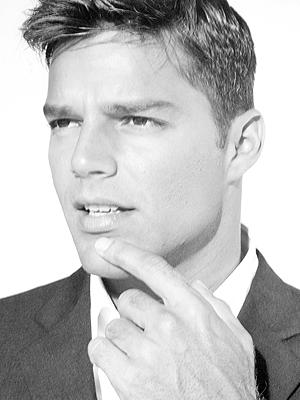 Ricky Martin, papás guapos