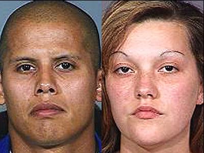 Guadalupe Quintero y Christopher Rosillo