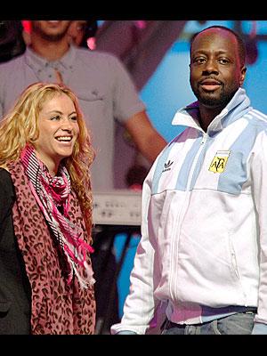 Paulina Rubio & Wyclef Jean