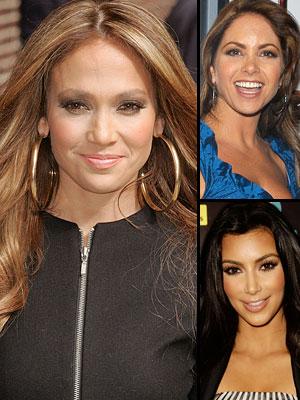 Piel de primavera, lucero, Jennifer López, Kim Kardashian