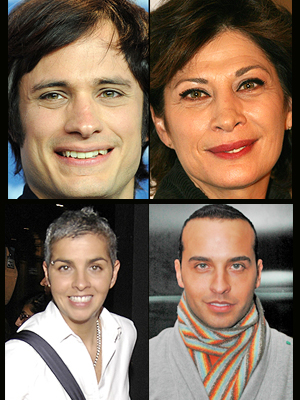 Gael García, Patricia Bernal, Federica, André, Como dos gotas de agua