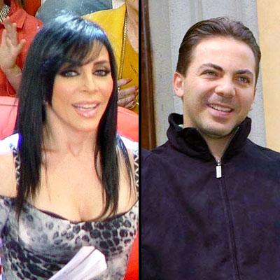 Veronica Castro y Cristian Castro