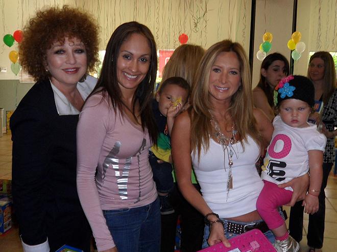 Angélica María, Elizabeth Hernández, Geraldine Bazán