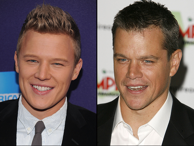 Christopher Egan, Matt Damon, Separados al nacer