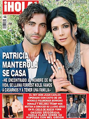 Patty Manterola en la Portada de la revista ¡Hola! México