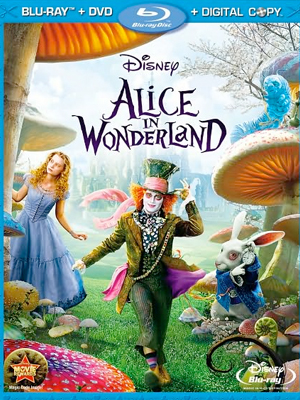 Alice In Wonderland en Blu-Ray+DVD+Digital Copy