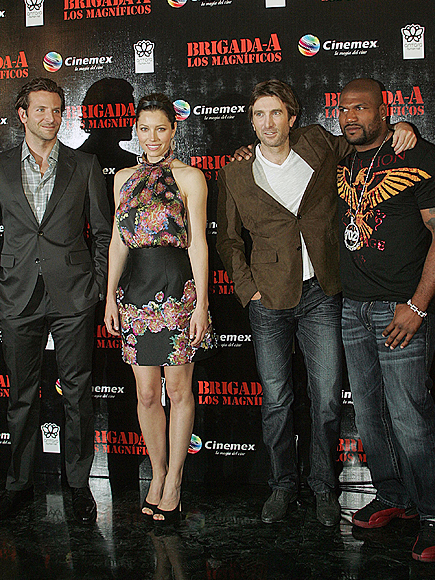 Jessica Biel, Bradley Cooper