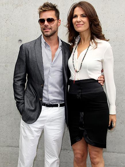 Ricky Martin, Roberta Armani