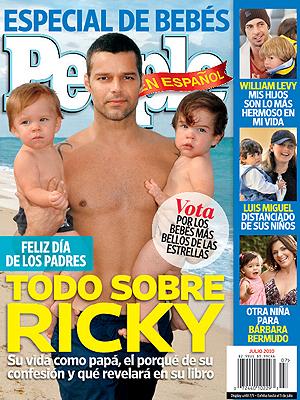 Ricky Martin, PEOPLE EN ESPAÑOL edición julio 2010