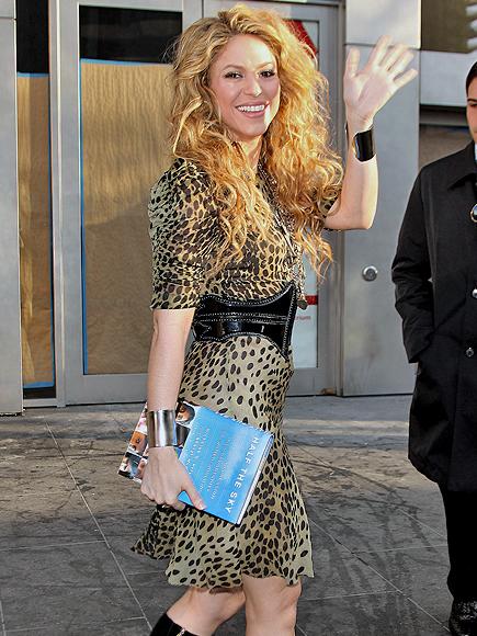Shakira, ondas, wavy hair