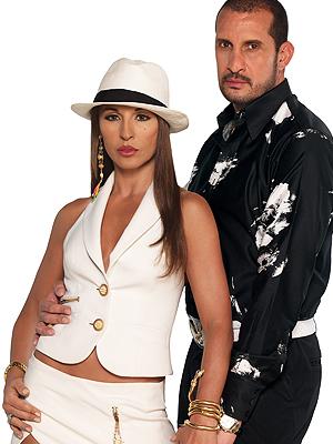 """Amparo Grisales y Fernando Solorzano en """"Las muñecas de la mafia"""""""