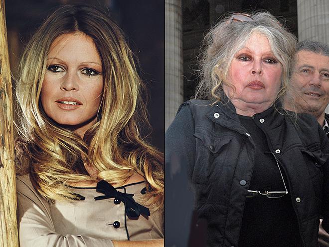 Brigitte Bardot ,Envejecer Con y Sin gracia