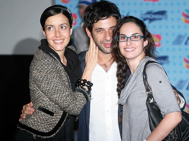 Cecilia Suáres, Ana Seradilla, Miguel Rodarte