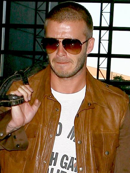 David Beckham, Los famosos también lloran