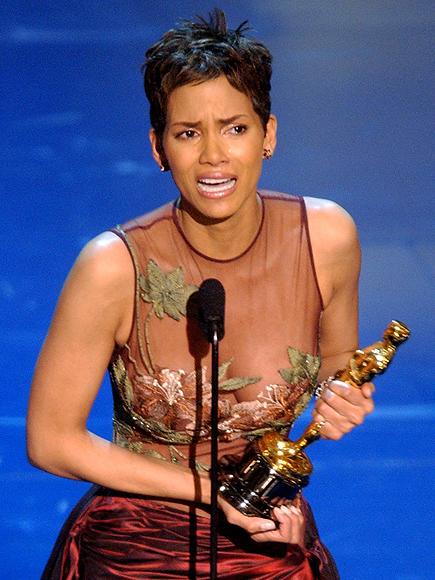 Halle Berry, Los famosos también lloran