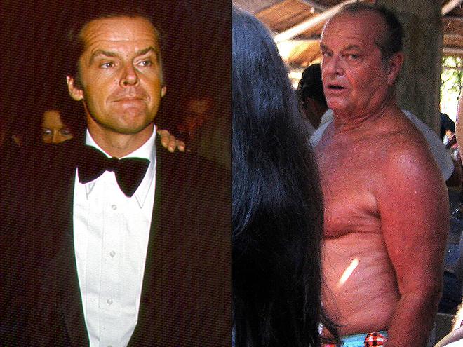 Jack Nicholson ,Envejecer Con y Sin gracia