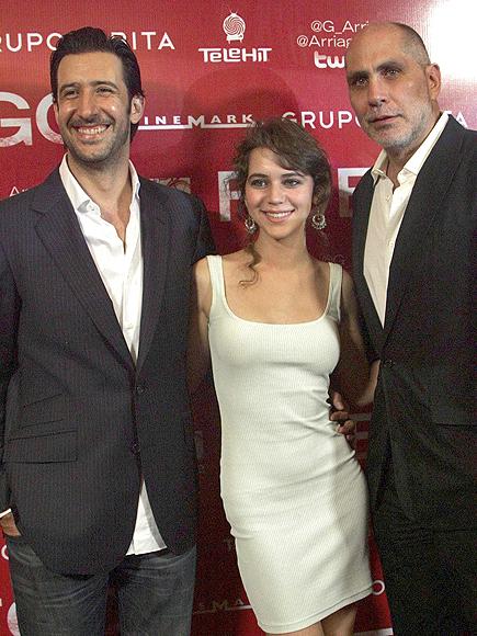 José María Yazpik, Tessa, Guillermo Arriaga