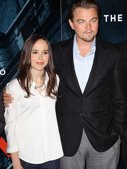 Leonardo DiCaprio, Ellen Page