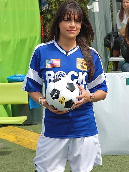 Michelle Rodríguez, Futbolista frustrados
