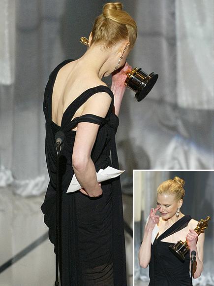 Nicole Kidman, Los famosos también lloran