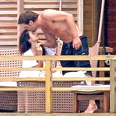 Penelope Cruz y Javier Bardem, Besos