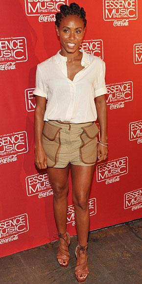 JADA PINKETT, shorts