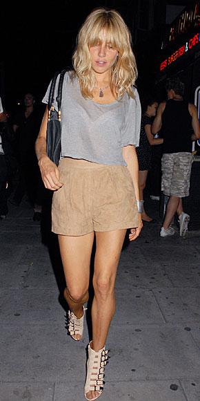 SIENNA MILLER, shorts