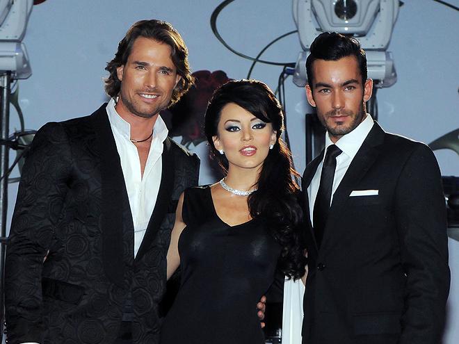 Aarón Diáz, Sebastián Rulli, Angelique Boyer