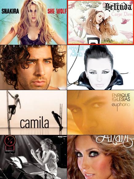 Premios People En Espanol 2010. Categoria Musica. Album del ano