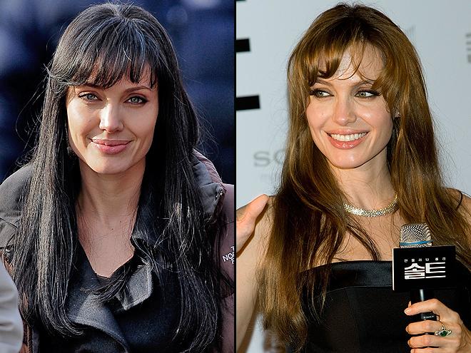 Angelina Jolie, Cómo se ve mejor, Cabello