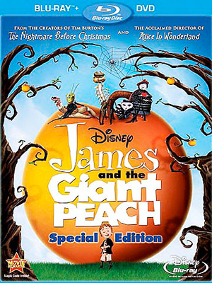 James and the Giant Peach en Blu-Ray/DVD