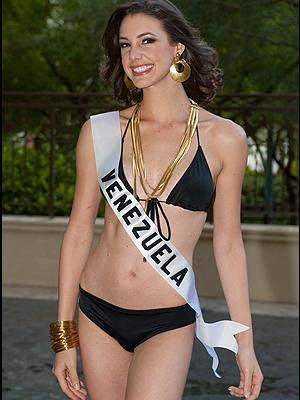 Miss Venezuela, Marelisa Gibson