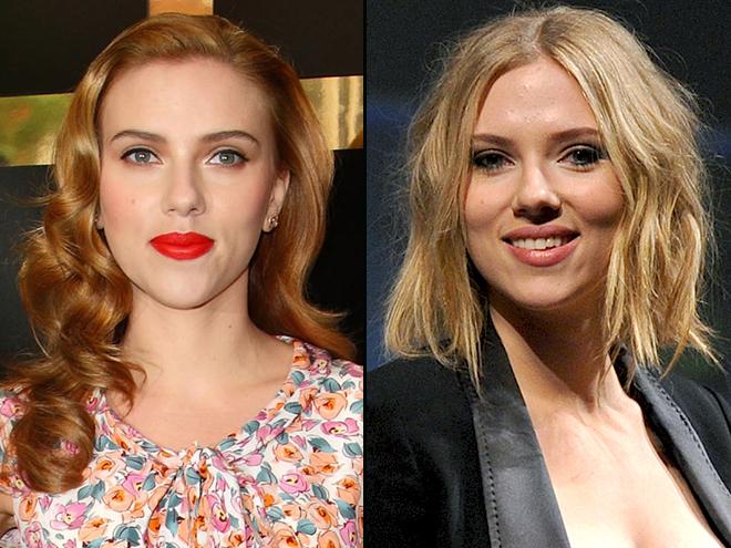 Scarlett Johansson, Cómo se ve mejor, Cabello