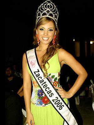 Deyanira Varela, Miss Zacatecas