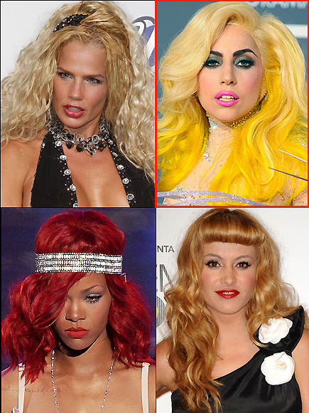 Premios People Mejores peinados, Lady Gaga, Niurka, Rihanna,