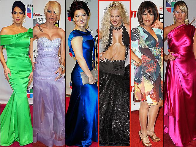 Premios People, las peor vestidas, Marisa del Portillo, Ivy Queen, Milly Quezada, Niurka, Diana Reyes, Melina León