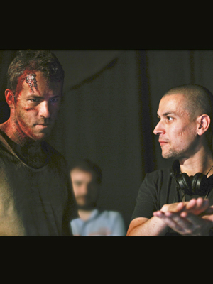 "Ryan Reynolds y Rodrigo Cortés, ""Buried"""