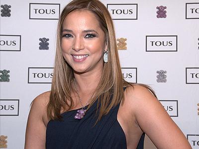 Adamari López en un evento de Tous en Miami