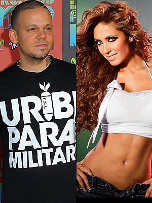 Anahí y René Pérez