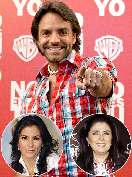 Eugenio Derbez, Alessandra Rosaldo, Victoria Ruffo, Parejas disparejas