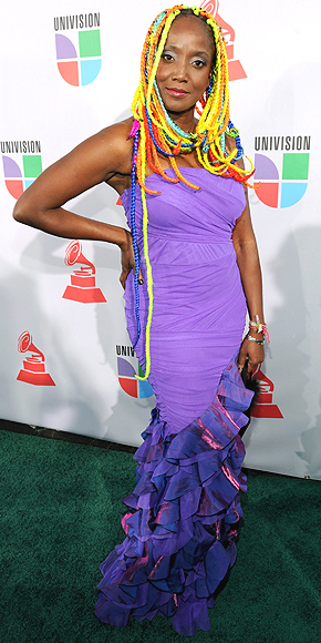 Lucrecia Pérez, Desastres en la historia del Latin Grammy