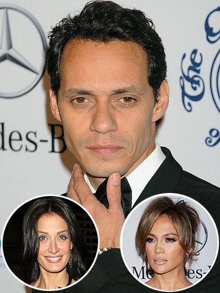 Marc Anthony, Dayanara Torres, Jennifer López, Parejas disparejas