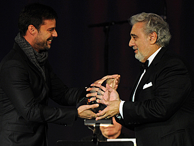 Ricky Martin, Placido Domingo