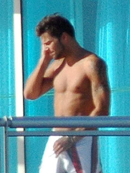 Ricky Martin, De quién es este pecho?