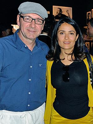 Salma Hayek, Kevin Spacey