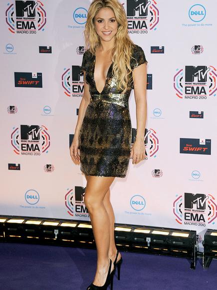 Quiz piernas, Shakira R